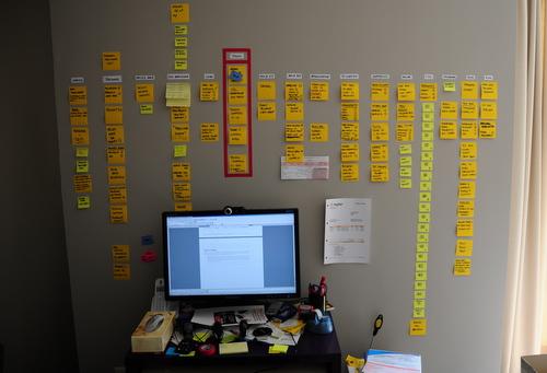 Xavier's desk